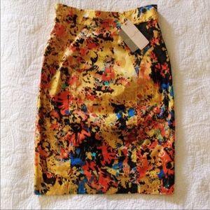 {Anthropologie} Gainsborough Pencil skirt